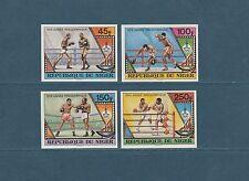 Niger  année préolympique de Moscou   1980   num:  484/87   ND  **
