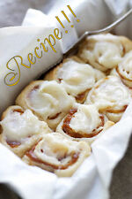 "☆Pumpkin Pie Cinnamon Rolls ""RECIPE""!☆Easy Peasy Perfection!!!☆"