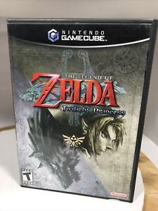 NO GAME-The Legend Of Zelda Twilight Princess Gamecube. Case and Manuals only