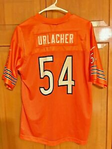 BRIAN URLACHER #54 CHICAGO BEARS NIKE TEAM *ORANGE/VARIANT* JERSEY YOUTH SZ XL