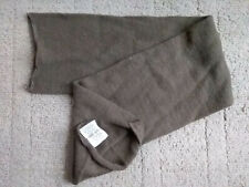 Vtg 80s US Army Military Scarf Neckwear Mens Green Wool 208 Class 1