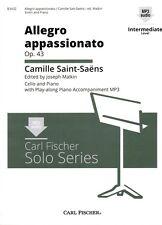 Saint-Saens Allegro Appassionato Op 43 Clo and Pno
