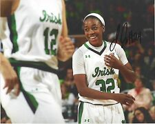 Jewell Loyd Signed 8 x 10 Photo Notre Dame Fighting Irish Wnba Basketball Storm