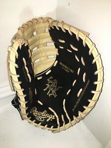 "NEW Rawlings PRORFM18-17BC Heart of Hide Baseball Glove FIRST BASE MITT 12.5"""