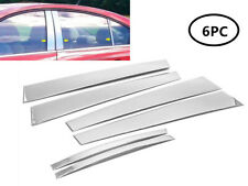 Fit 2010-2016 Chevrolet Cruze Stainless Steel Chrome Pillar Post Trim Cover