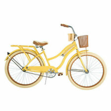 Huffy Nel Lusso 26 inch Cruiser Bike - Yellow perfect fit frame 56598