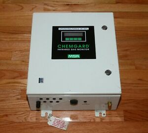 MSA ChemGard Infrared Gas Monitor Type Carbon Dioxide A-RT-A-1-1-1-0-0-0-0-0-0-0
