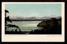 c1905 Olympic Mountain Range Seattle Washington postcard