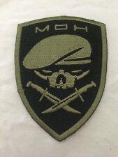Medal of Honor Ranger Patch - Green on black