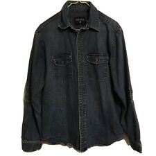Nautica Jeans Company Denm Button Jacket Size Large