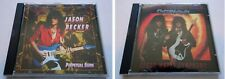 Jason Becker +Cacophony 2CD:Perpetual Burn,Speed Metal Symphony, 1st releases