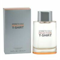 Reaction T-Shirt by Kenneth Cole 3.4 oz EDT sp for Men New In Box