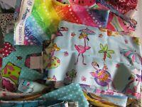 Lot Fabric Scraps, Small Fabric Scrap Pack For Strip Quilts Scrap Quilts 1/2 LB