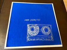 Andy Cigarettes~Tape Hiss~NM~INSERT~Silk Screen Cover~Punk Experimental Alt Rock