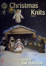 Christmas Knits Book 3 King Cole Xmas Decoration Nativity Scene Knitting Pattern