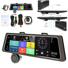 "10"" 4G GPS Navitation Dual Lens Rearview Mirror DVR Recorder Camera Andorid 5.1"