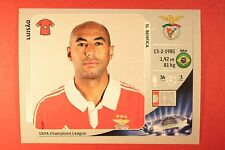 PANINI CHAMPIONS LEAGUE 2012/13 N. 464 LUISAO BENFICA BLACK BACK MINT!