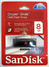 SanDisk Cruzer Glide USB Flash Drive 8GB SDCZ60-008G-A11C 80-5610578-008G