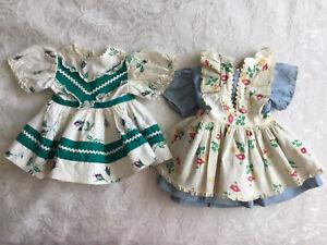 "Vintage Doll Dresses For 16"" Saucy Walker and Other 16"" Dolls"