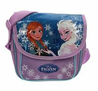 Disney Frozen Anna And Elsa Messenger Dispatch Bag