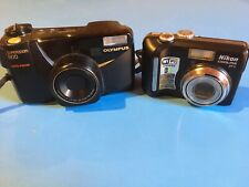 Olympus superzoom 800 & Nikon coolpix P1