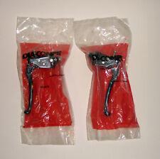 VINTAGE NOS DIA-COMPE TECH 6 128 Locking Brake Lever Set - BLACK