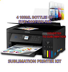Epson Sublimation, Dye or Pigment ink, Printer Bundle with CISS Kit