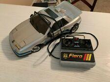 VINTAGE 1986 New Bright PONTIAC FIERO Toy R/C Silver Car COOL