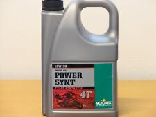 15,-€/l Motorex Power Synt 4T 10W/50 4 L vollsynthetisches Motorradöl