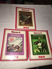 The Guess Who - Sealed 8 Track Tapes Lot Of 3 - Rock