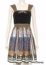 New Japan Secret Honey Disney LE Frozen Khaki Allendale Summer Tapestry Dress
