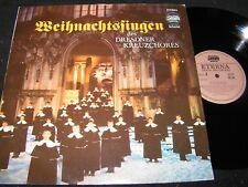 DRESDNER KREUZCHOR Weihnachtssingen / DDR LP 1987 ETERNA DMM 725080