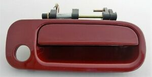 FOR TOYOTA CAMRY 92-96 RIGHT FRONT OUTSIDE HANDLE RUBY RED BURGUNDY MAROON