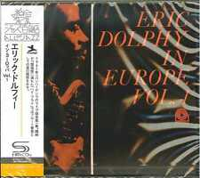 ERIC DOLPHY-ERIC DOLPHY IN EUROPE. VOL. 1 -JAPAN SHM-CD C94