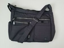 Lug Women's Large Crossbody with RFID - Double Dutch Dark Grey