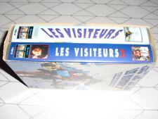 LES VISITEURS 1 & 2 VHS (coffret 2 cassettes) Christian Clavier Jean Reno