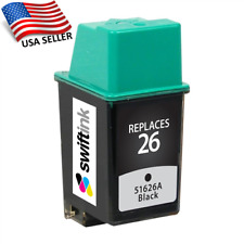 HP 26 - 51626A - Black Printer Ink Cartridge - Expires 2021