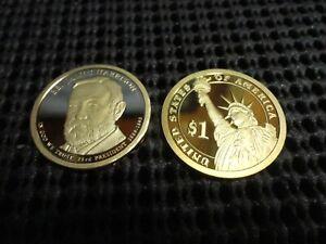2012-S  Proof Benjamin Harrison  Presidential Dollar
