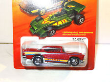 HOT WHEELS THE HOT ONES RED 1957 CHEVY O28