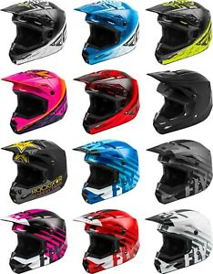 Fly Racing Kinetic Helmet - MX Motocross Dirt Bike Off-Road ATV UTV MTB Men
