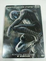 Spider-Man 3 Ed Especial Steelbook 2 x DVD + Extras Español Ingles - 3T