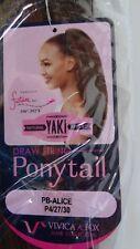 VIVICA A FOX PB-ALICE Futura Fiber Drawstring Synthetic Hair Ponytail