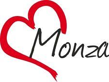 Auto Aufkleber MONZA Sticker Stadt Italien ca.9x12cm konturgeschnitten