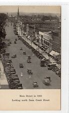 MAIN STREET IN 1932, MIDDLETOWN: Connecticut postcard (C9497)