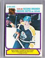 1980-81 O-Pee-Chee OPC #3 Wayne Gretzky Record Breaker HOF EX? 💲🏒 CSV