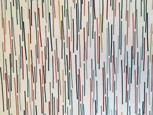 CLEARANCE! JOHN LEWIS TILDA WIPEABLE MULTI COLOUR PVC TABLECLOTH FABRIC MATERIAL