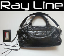 100% authentic Balenciaga The Twiggy 2 way Shoulder Bag 128523 (USED)