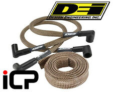 "DEI Heat Protective Titanium Protect-A-Sleeve For Ignition HT Leads 1/2""x4ft Kit"
