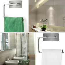 Polished Stainless Steel Toilet Roll Holder Self Adhesive Stickon A3203P
