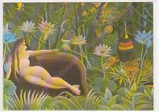 CP ART TABLEAU HENRI ROUSSEAU Le rêve  1910